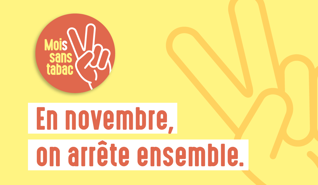 Novembre : Mois sans tabac !