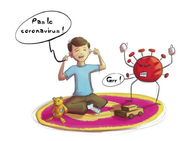 LE CORONAVIRUS EXPLIQUE AUX ENFANTS